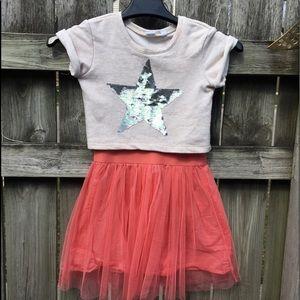 Gap Kids  layered Look Tulle Dress